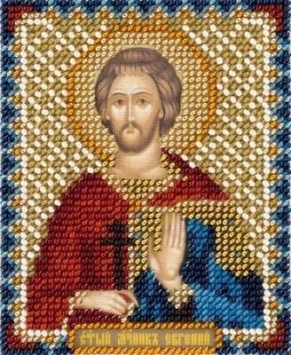 """Набор для вышивания """"PANNA"""" CM-1875 """"Икона Святого мученика Евгения Севастийского"""" 8,5x11 см"""