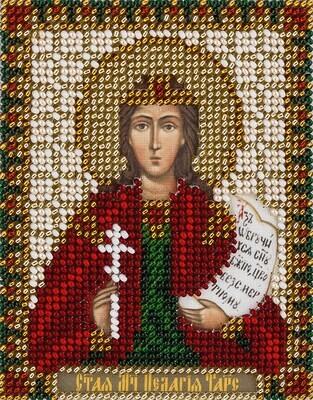 """Набор для вышивания """"PANNA"""" CM-1661 """"Икона Святой мученицы Пелагии Тарсийской"""" 8,5x11 см"""
