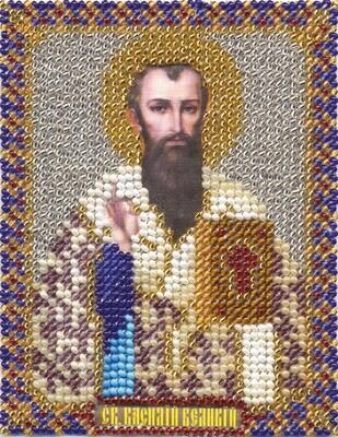 """Набор для вышивания """"PANNA"""" CM-1400 """"Икона Святого Василия Великого"""" 8,5x10,5 см"""