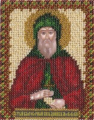 """Набор для вышивания """"PANNA"""" CM-1213 """"Икона Св.Благоверного Даниила Московского"""" 8,5x10,5 см"""