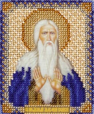 """Набор для вышивания """"PANNA"""" CM-1882 Икона Святого преподобного Макария Великого Египетского 8,5x11 см"""