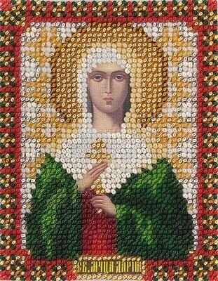 """Набор для вышивания """"PANNA"""" CM-1217 """"Икона Святой мученицы Дарьи"""" 8,5x10,5 см"""
