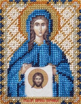 """Набор для вышивания """"PANNA"""" CM-1749 """"Икона Святой мученицы Виринеи Едесской"""" 8,5x11 см"""