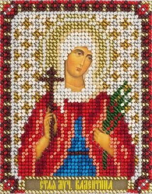 """Набор для вышивания """"PANNA"""" CM-1544 """"Икона Святой мученицы Валентины"""" 8,5x10,5 см"""
