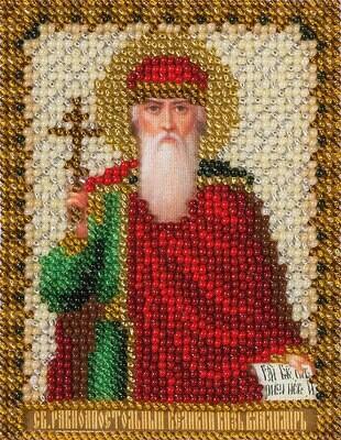 """Набор для вышивания """"PANNA"""" CM-1211 """"Икона равноапостольного Великого князя Владимира"""" 8,5x10,5 см"""