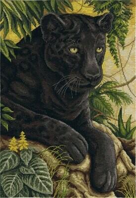 """Набор для вышивания """"PANNA"""" J-1697 ( Ж-1697 ) """"Черный бархат джунглей"""""""