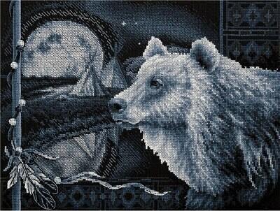 """Набор для вышивания """"PANNA"""" J-1714 ( Ж-1714 ) """"Предание о медведе"""""""
