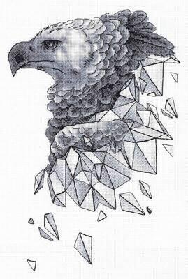 """Набор для вышивания """"PANNA"""" J-7146 """"Геометрия. Орел"""""""