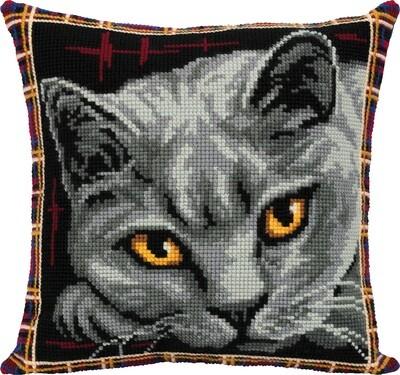 """Набор для вышивания """"PANNA"""" PD-7122 """"Подушка. Британская кошка"""""""