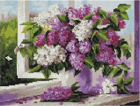 Алмазная мозаика Paintboy ACPK 79001 Аромат весны (Воробьёва Ольга) 30*40