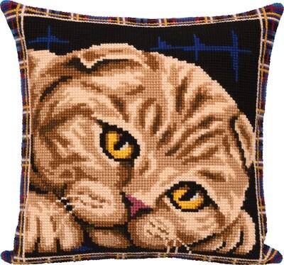 """Набор для вышивания """"PANNA"""" PD-7123 """"Подушка. Шотландская кошка"""""""