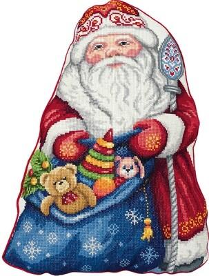 "Набор для вышивания ""PANNA"" PD-7186 ""Подушка. Дед Мороз"""