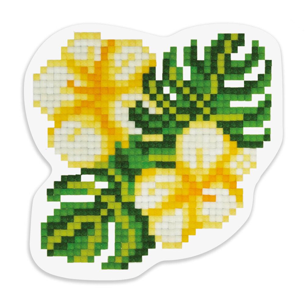 """Кристальная мозаика """"ФРЕЯ"""" ALVM-038 магнит """"Тропические цветы"""""""