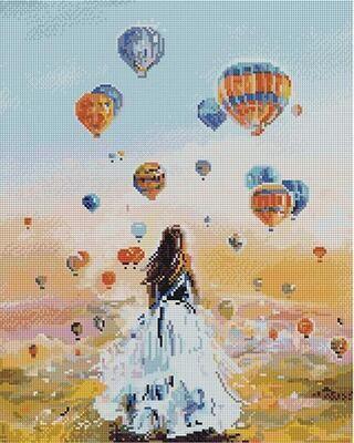 Алмазная мозаика APK 59005 Там, где рождаются мечты (Логинова Аннет) 40*50