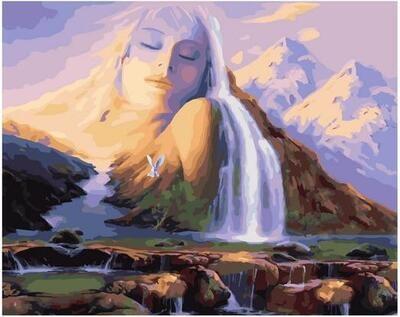 Картина по номерам Paintboy PK 11419 Мирный сон 40х50см
