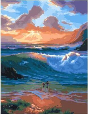 Картина по номерам Paintboy PK 11421 Пойми счастье 40х50см