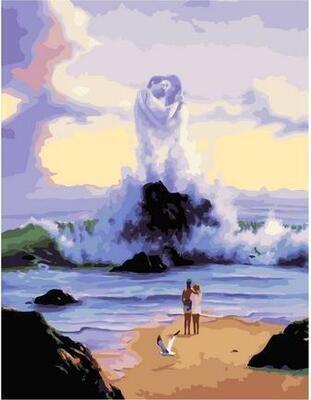 Картина по номерам Paintboy PK 11422 Притяжение 40х50см