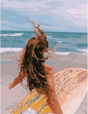 Картина по номерам Paintboy PK 11434 Навстречу волнам 40х50см