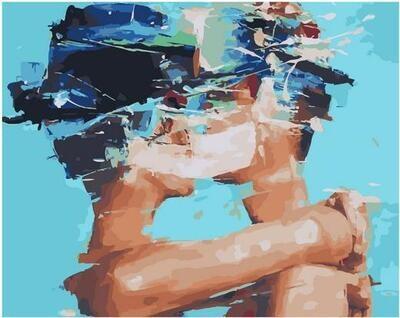 Картина по номерам Paintboy PK 11464 Продолжение друг друга 40х50см