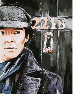 Картина по номерам Paintboy PK 11508 Шерлок 40х50см