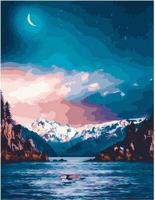 Картина по номерам Paintboy PK 11451 Иллюзия луны 40х50см