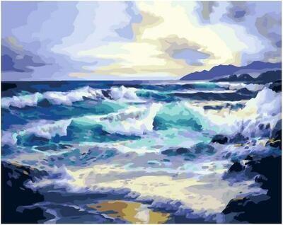 Картина по номерам Paintboy PK 11461 Рассвет над океаном 40х50см