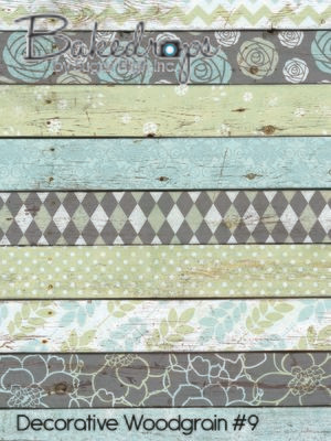 Decorative Woodgrain #9