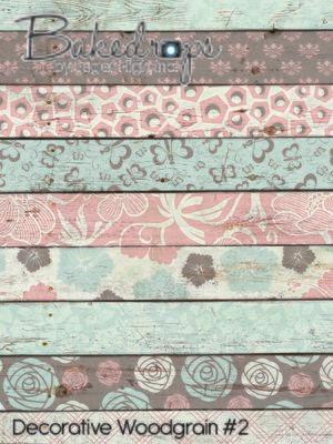 Decorative Woodgrain #2