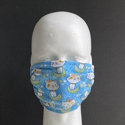 Unicorn Kitty Reusable Cloth Face Mask