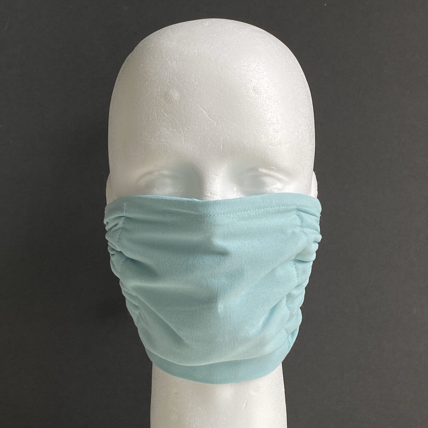 Solid Sea Glass Reusable Cloth Face Mask
