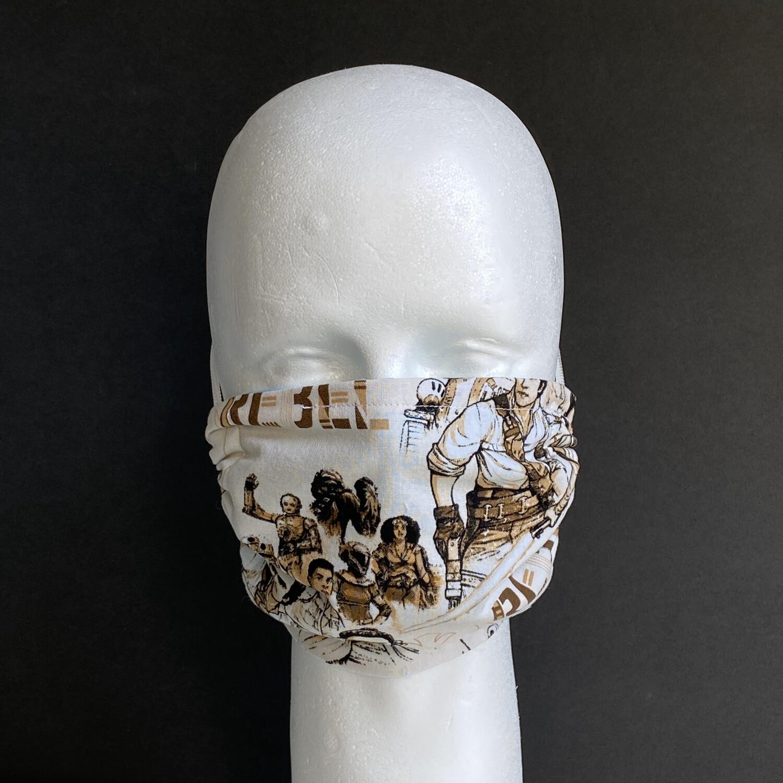 Rebel Reusable Cloth Face Mask