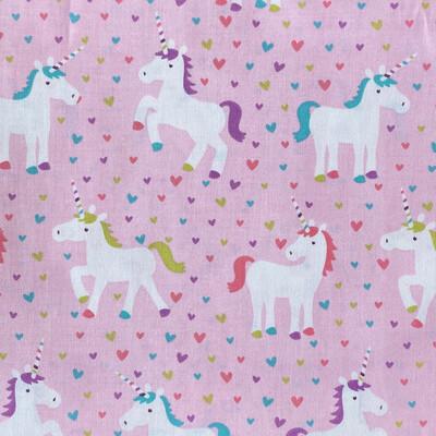 Pink Unicorns Adjustable Reusable Cloth Face Mask