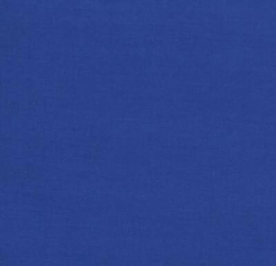 Solid Royal Blue Adjustable Reusable Cloth Face Mask