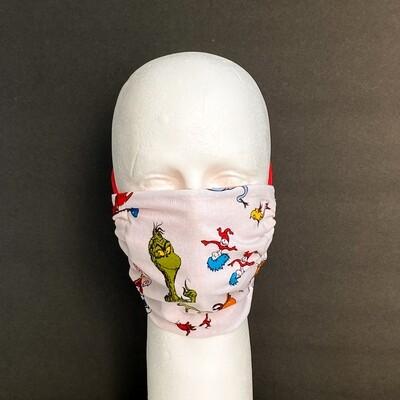 Dr Suess Reusable Cloth Face Mask