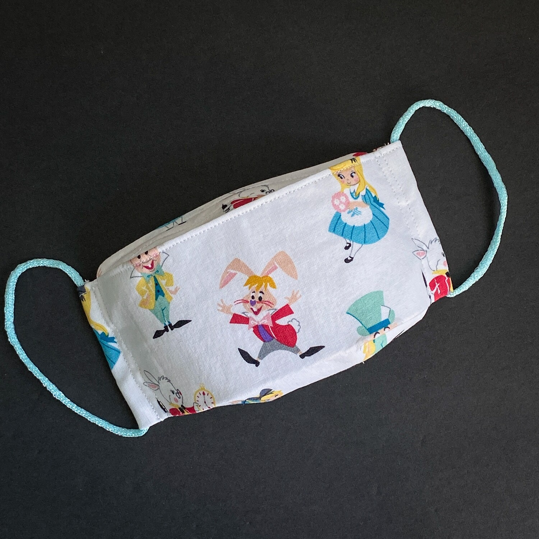 EasyFit Disney Alice in Wonderland Reusable Cloth Face Mask
