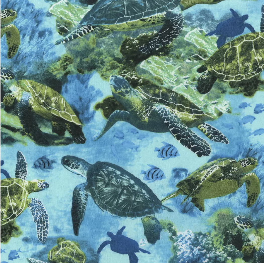 Sea Turtles Reusable Cloth Face Mask