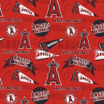 MLB Baseball Los Angeles Angels Vintage Adjustable Reusable Cloth Face Mask