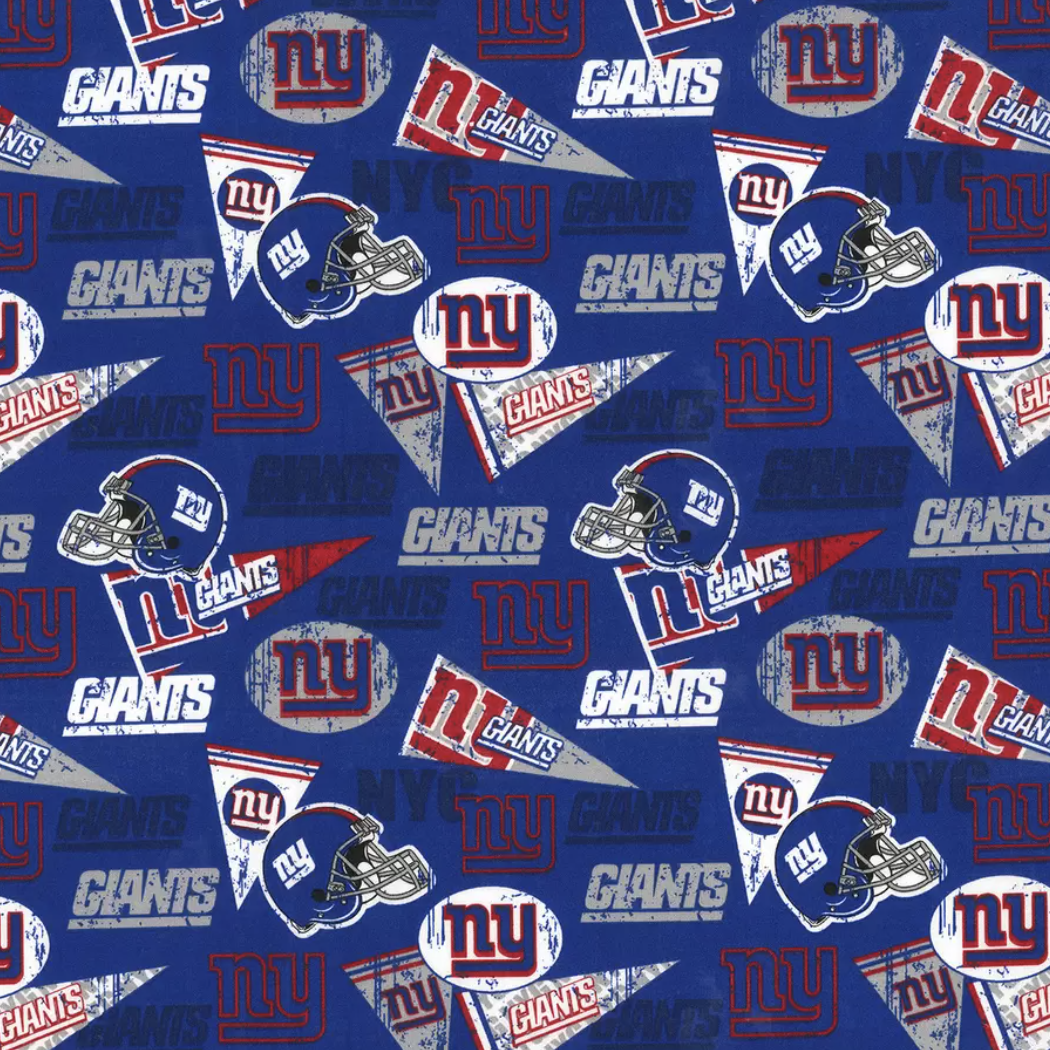 Football New York Giants Retro Adjustable Reusable Cloth Face Mask
