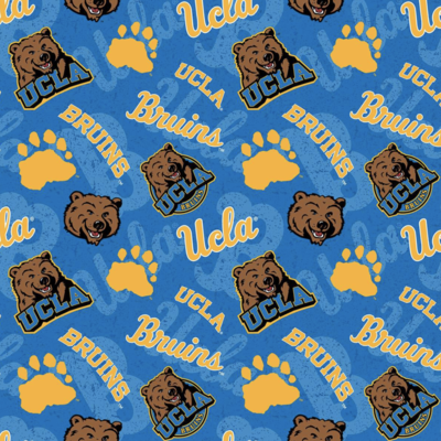 College University of California Los Angeles Bruins Adjustable Reusable Cloth Face Mask