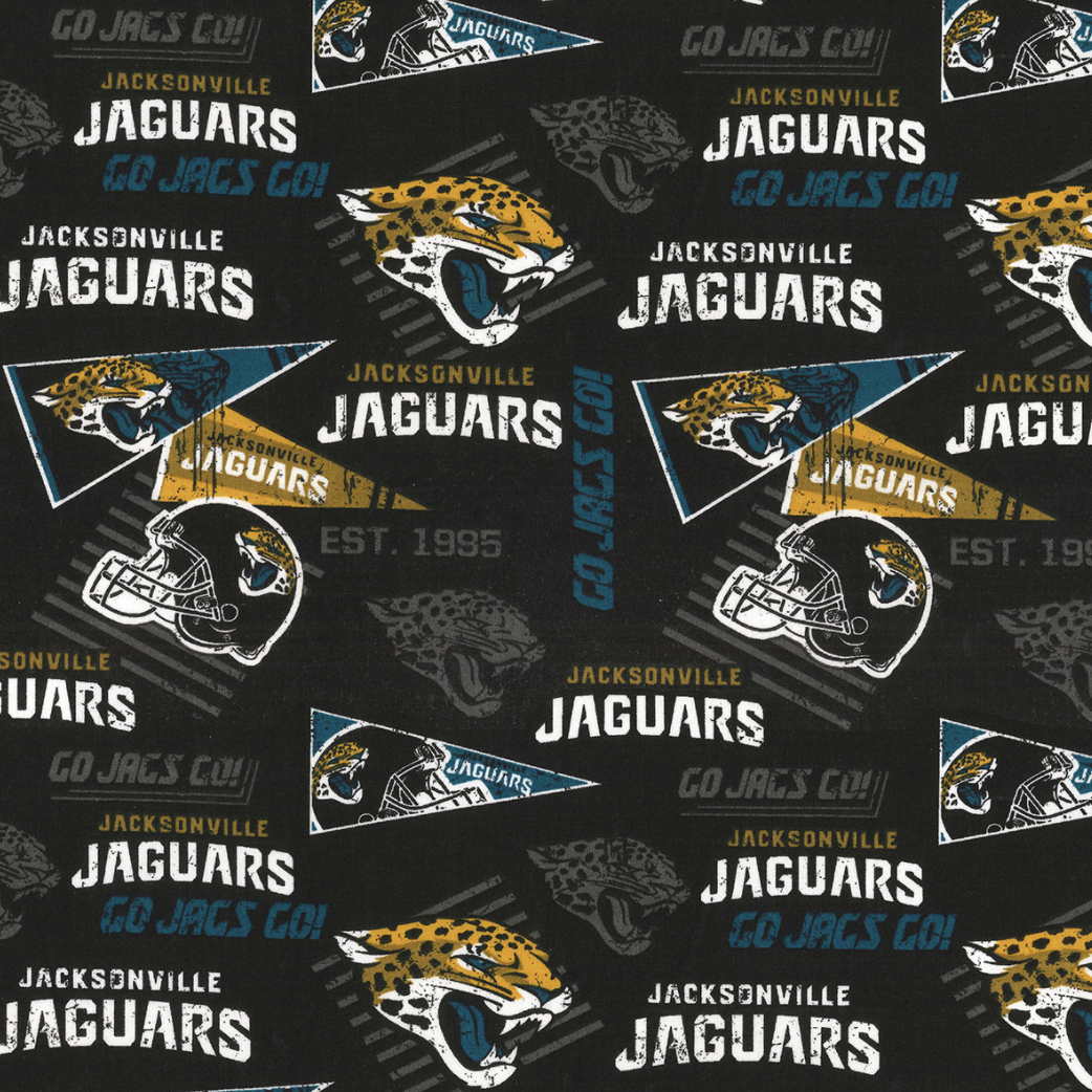 EasyFit NFL Football Jacksonville Jaguars Reusable Cloth Face Mask