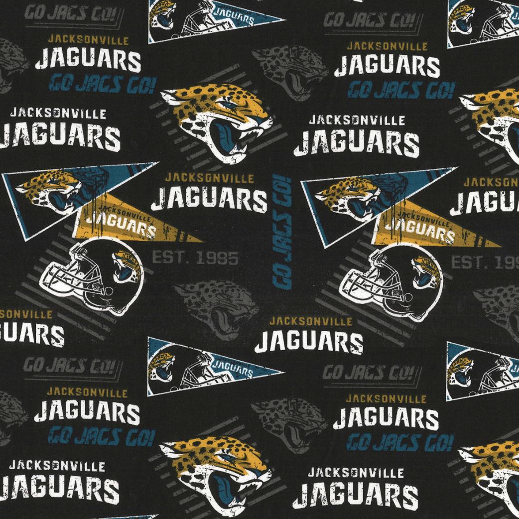 Football Jacksonville Jaguars Adjustable Reusable Cloth Face Mask