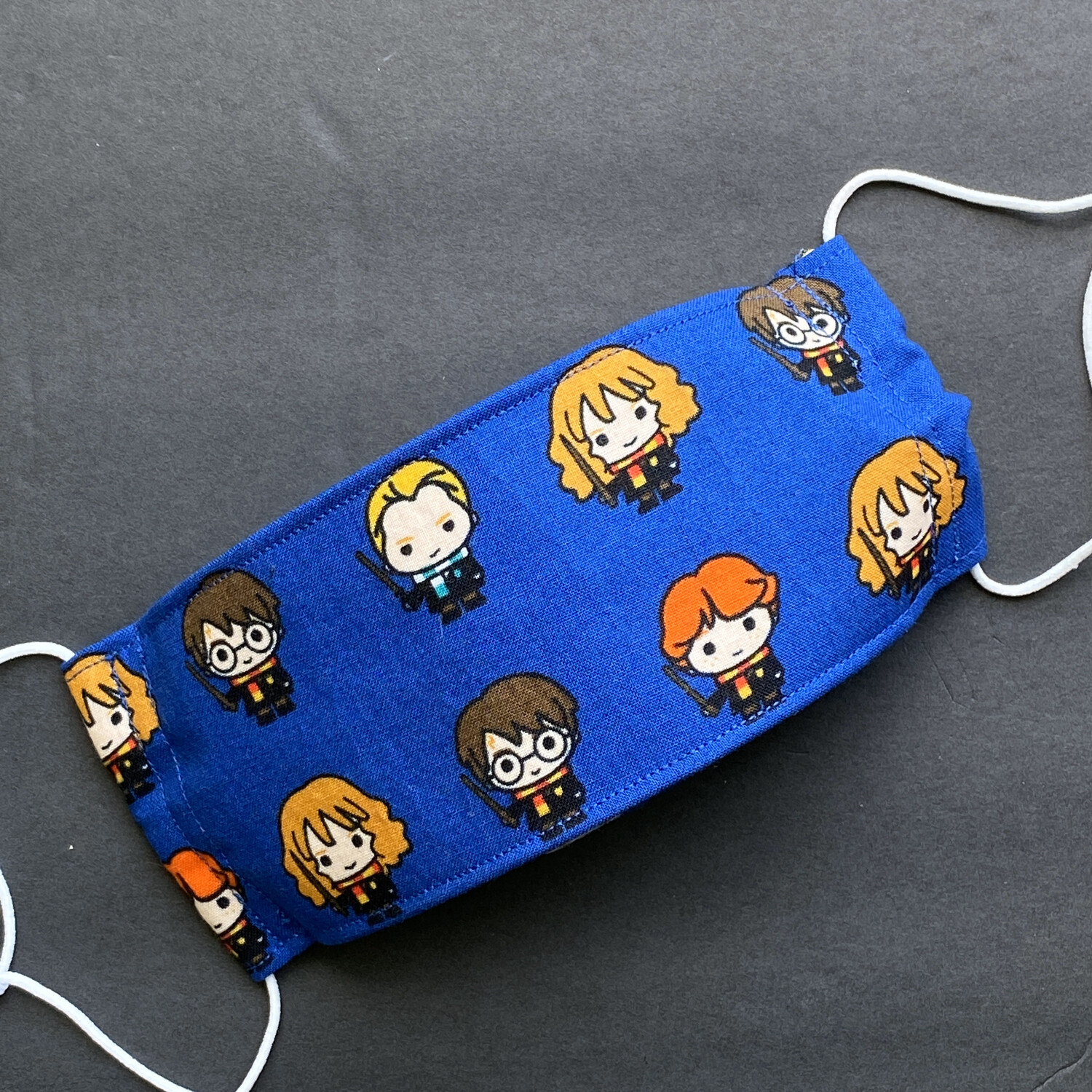 EasyFit Harry Potter Blue Kawaii Reusable Cloth Face Mask