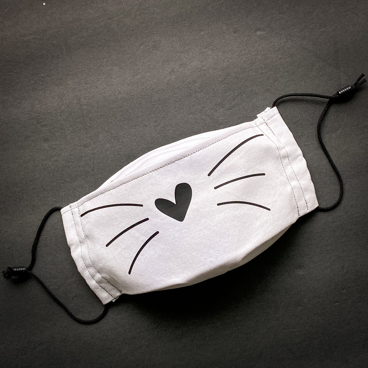 EasyFit Cat Whiskers Reusable Cloth Face Mask