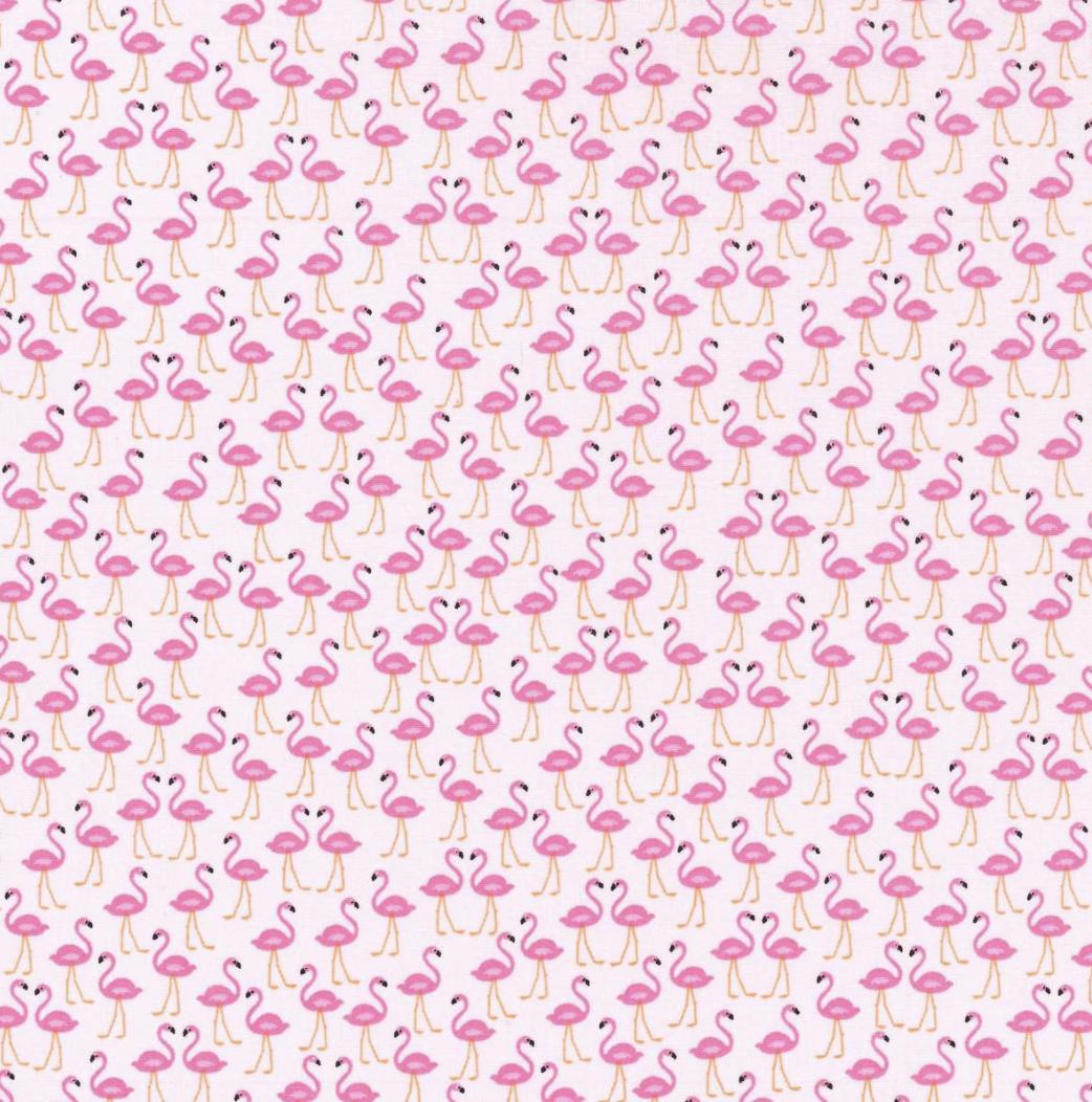 EasyFit Mini Flamingos Reusable Cloth Face Mask