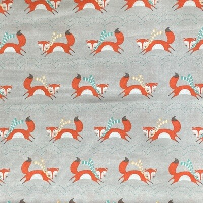 EasyFit Orange Fox Reusable Cloth Face Mask