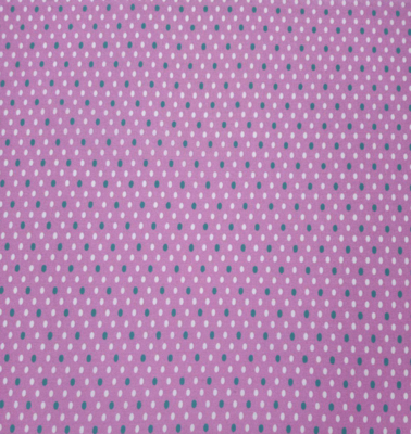 EasyFit Teal and White Polka Dots on Pink Reusable Cloth Face Mask