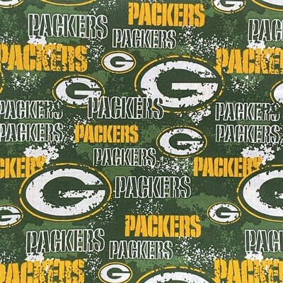 EasyFit NFL Football Greenbay Distressed Retro Reusable Cloth Face Mask