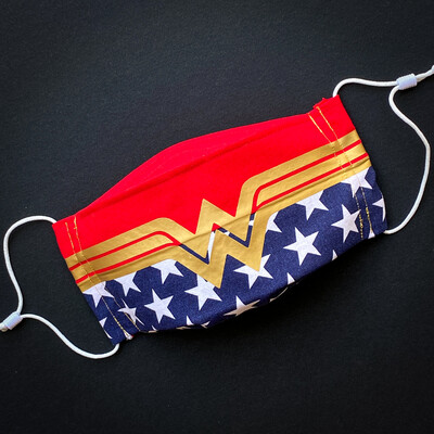 EasyFit Wonder Woman Reusable Cloth Face Mask