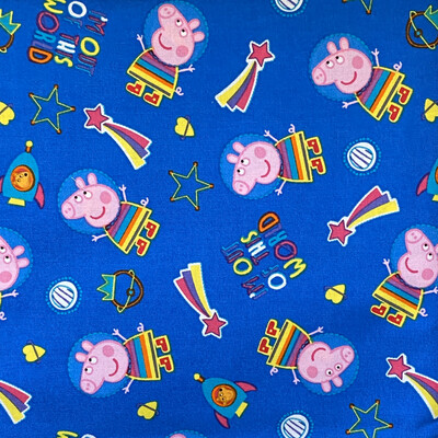 EasyFit Peppa Pig Out Of This World Reusable Cloth Face Mask