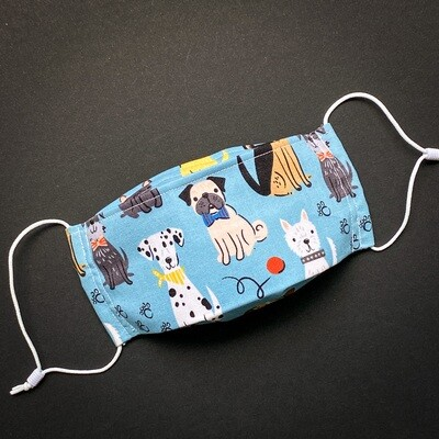 EasyFit Good Boy Dogs Reusable Cloth Face Mask